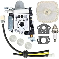 Savior Carburetor with Fuel Line Kit for Zama RB-K85 Echo PB-251 PB-265L PB-265LN Blower A021001350 A021001351 A021001352