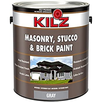Kilz Interior Exterior Basement And Masonry Waterproofing Paint White 1 Gallon House Paint