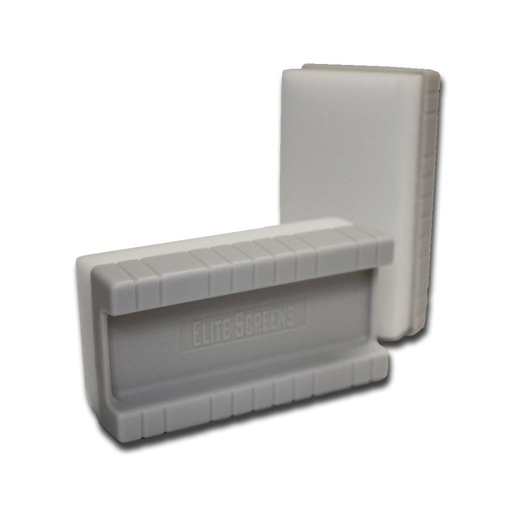 Elite Screens Elite High Density WhiteBoardScreen Eraser, 2 pcs Set
