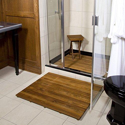 Plantation Teak Shower Mat (36'' x 30'') by Teakworks4u (Image #6)