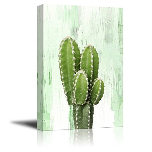 Print Cactus on Retro Style Background Gallery
