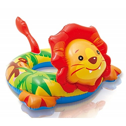 Price comparison product image Big Animal Swim Ring (Lion)