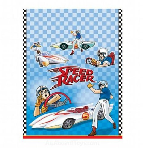 Speed Racer Birthday Party Supplies (Speed Racer Plastic Table Cover (1ct))