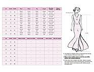 Ever-Pretty Women's Chiffon Formal Dress Burgundy Floor Length Bridesmaid Dresses 08500