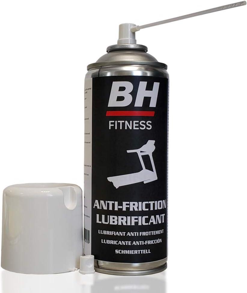 BH - Spray lubricante para cintas de correr - 400ml - Compatible con cintas domésticas - 7297701