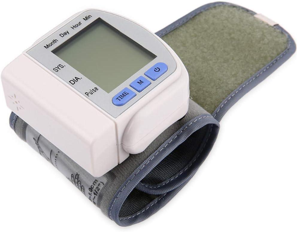 AirMood Brazo medidor de Impulso de presión Arterial de muñeca Monitor de esfigmomanómetro corazón Lata frecuencia del Pulso de Metro automática Médico Cuidado de la Salud