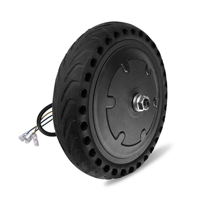 Ruedas de Repuesto para patinetes eléctricos, 8,5 Pulgadas de Motor sólido 8 1 / 2X2 Libre de Amortiguador Inflable sólido neumático, Xiaomi Mijia Scooter ...