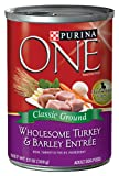 Purina One Classics Canned Dog Food, Turkey Barley, 13-Ounce (Pack of 12), My Pet Supplies