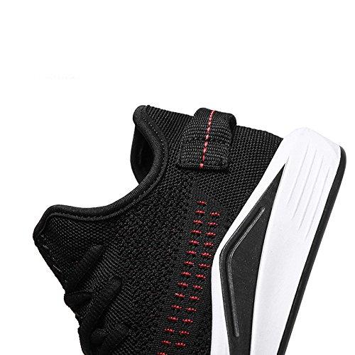 Blackandred Malla Transpirable Yxlong Zapatos Deportes Blancos Los Verano Salvajes De Casuales Hombres nPnYgq