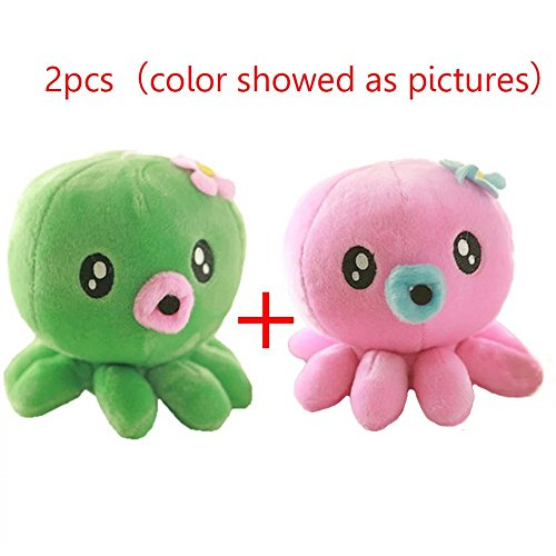 Lovely Sea Animals Plush Toy Doll Stuffed Fish Octopus Turtle Pillow Baby (Great China Sheep Plush)
