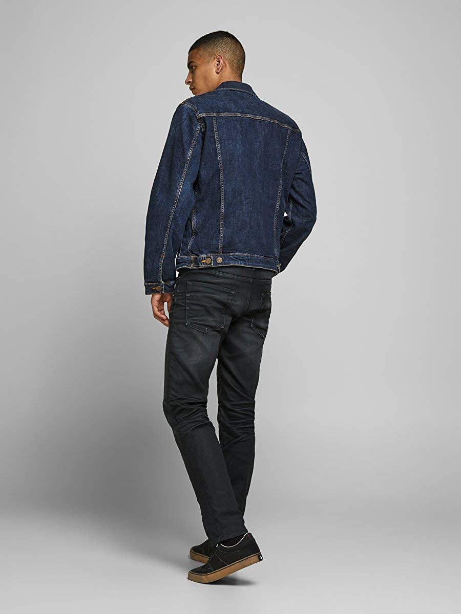 Jack /& Jones Mens Denim Jacket