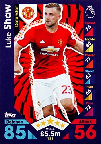 Match Attax 16/17 > Luke Shaw Manchester United > #183