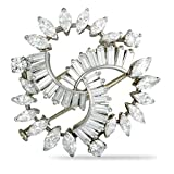 Est. Boucheron Vintage Platinum Diamond Brooch