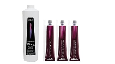 Buy Loreal Professional Hair Color Dia Richesse Tubes 3 Tube No4