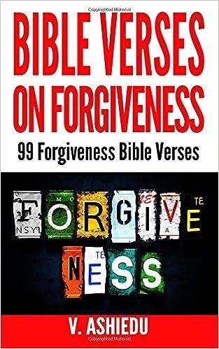 Verses on forgivness