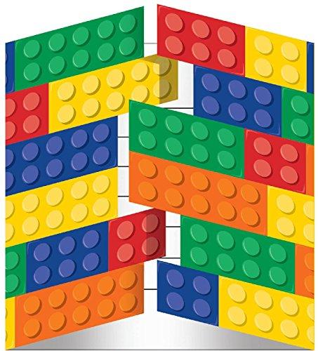Building Block Party Invitations
