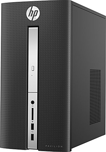 2016 HP Pavilion Desktop- 6th Gen Quad Core Intel I7-6700T Processor up to 3.6GHz, 8GB DDR4 Memory, 2TB 7200rpm HDD, DVD±RW, 802.11ac, Bluetooth, HDMI+VGA Dual Monitor Support, Windows 10