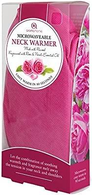 Aroma Home - Rosa para el microondas calentador de cuello ...