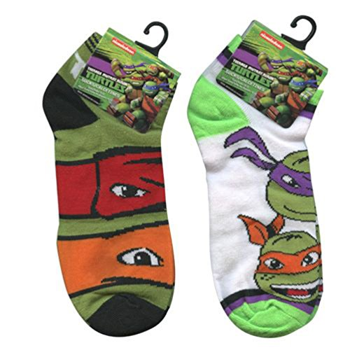 ninja turtle boys socks - 6