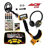 Jestik Garrett ACE 250 Metal Detector with Submersible Search Coil Plus Headphone