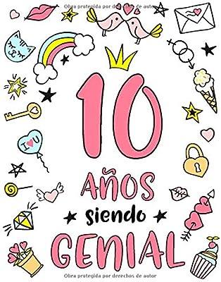 10 Años Siendo Genial: Regalo de Cumpleaños 10 Años Para ...
