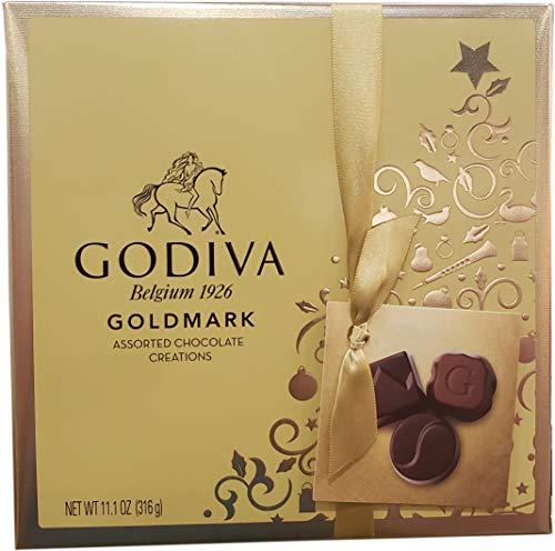 - Godiva 27 Piece Belgium Boxed Assortes Chocolate, 11.1 Ounce