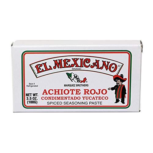 El Mexicano Achiote Rojo 3.5 oz