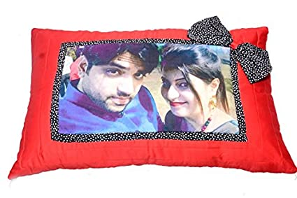 Buy Customized Gift Personalised Photo Pillow Covers Set Of 40 Gorgeous Personalised Pillow Covers India