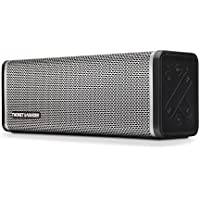 Thonet and Vander Frei Portable Bluetooth Speaker with Enhanced Bass, Shockproof Sleeve, 8 Hour Battery Life, 3.5mm Stereo Input