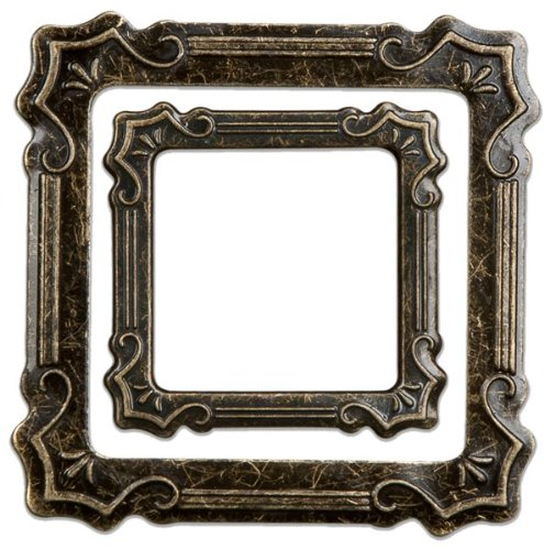 Momenta Small 2-Piece Metal Frame, - Pieces Metal Frame