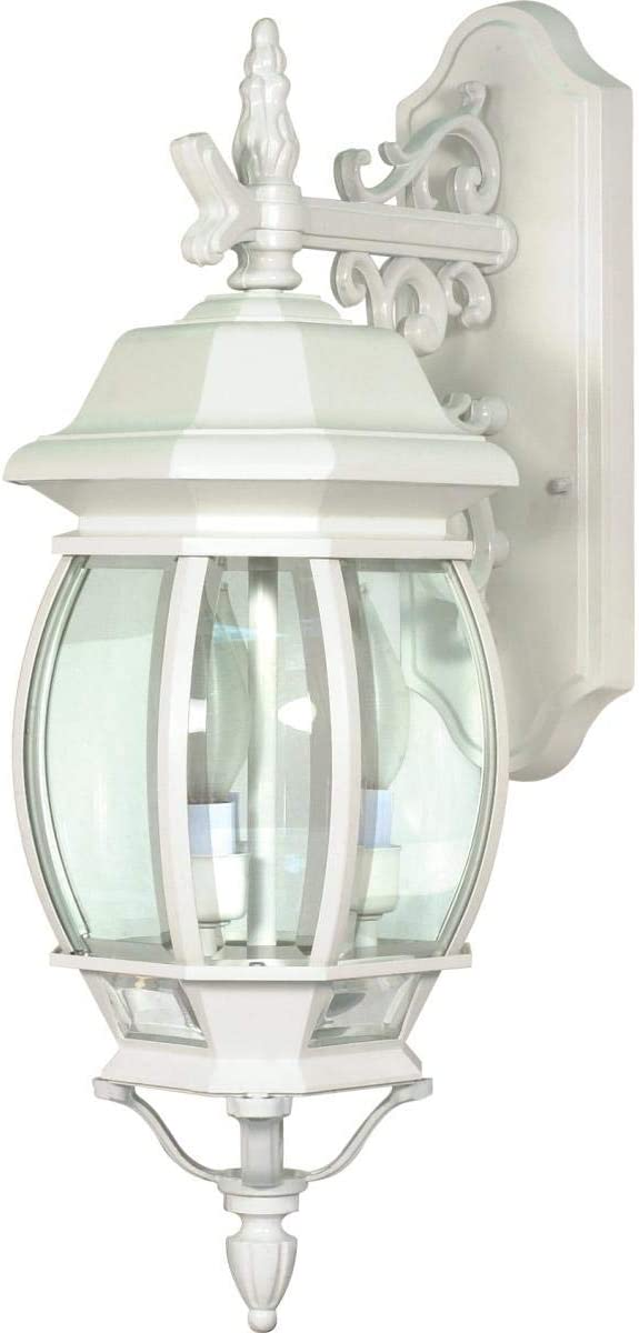 Nuvo Lighting 60 891 Three Light Outdoor Wall Mount, Unknown, White