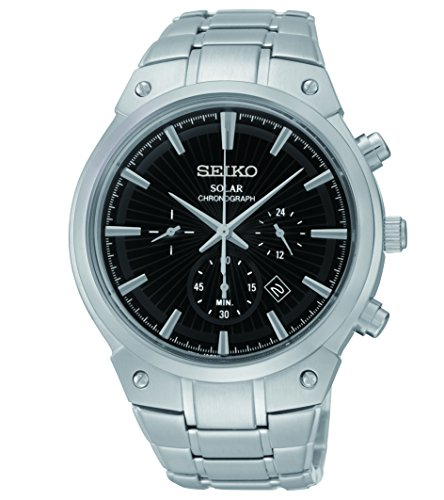 Seiko Men's SSC317 Analog Display Analog Quartz Silver Watch by Seiko Watches