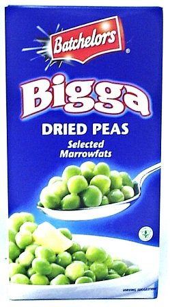 English Pea - Batchelors Bigga Dried Peas - 6 x 250gm