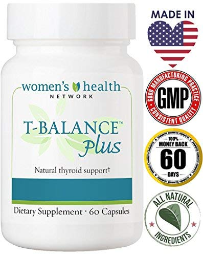 T-Balance Plus Thyroid Support by Women's Health Network - Natural Supplement for Thyroid Health (3 Bottles) by Women's Health Network (Image #4)