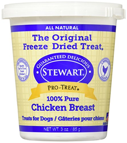 Cheap Gimborn Stewart Freeze Dried Treat – Chicken Breast 3 oz. Tub, 1 Pack