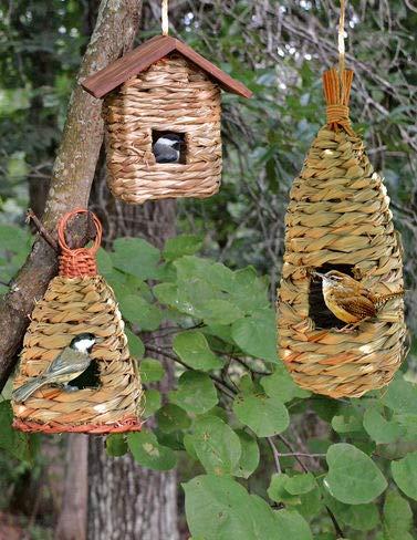 House Songbird Wren Essentials - Songbird Essentials Roosting Pockets, Set of 3