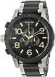 Nixon Men's '51-30 Chrono' Quartz Stainless Steel Watch, Color:Silver-Toned (Model: A0832194-00)