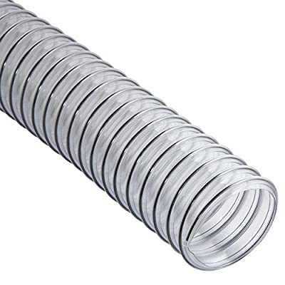 Clear Flexible Hose - 10 ' Long 2-1/2'' Diameter