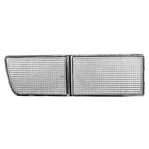 1999 Towing Eye Cover (Drivers Front Bumper Insert Towing Eye Cover Replacement for VW Volkswagen 1HM941777C)