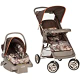 Cosco Lift & Stroll Travel System - Car Seat and Stroller – Suitable for Children Between 4 and 22 pounds, Realtree Camo