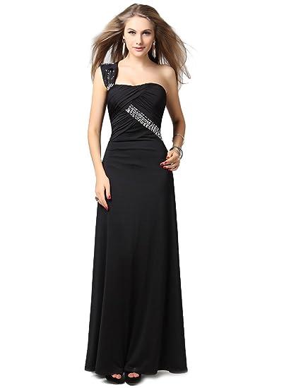 special for shoe 100% quality quarantee modern design Lovely One Shoulder Spandex Long Evening Dress UK NEXT DAY ...