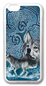 Celtic Wolf Custom Case For HTC One M7 Cover PC Transparent