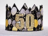 Adult 50th Birthday Crown