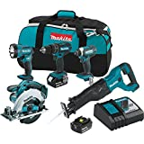 Best Power Tool Combo Kits - Makita XT505 18V LXT Lithium-Ion Cordless Combo Kit Review