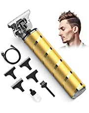 T Blade Trimmer for Men, Professional Cordless Zero Gapped Trimmer Ornate Hair Clipper for Men Clippers for Hair Cutting Shape Up Clipper