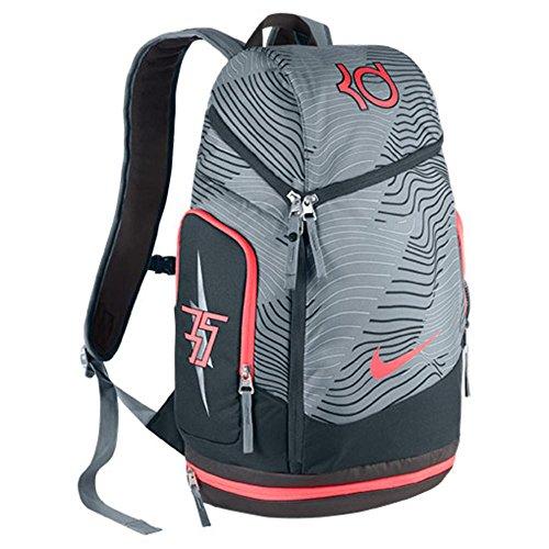 Nike KD Max Air Basketball Backpack Dove Grey/Hot Lava