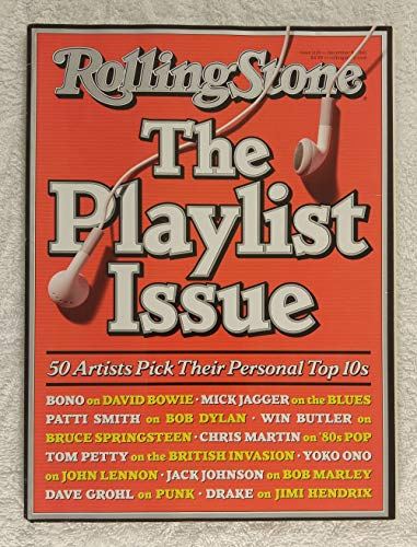 The Playlist Issue - 50 Artists Pick Their Personal Top Tens - Rolling Stone Magazine - #1119 - December 9, 2010 - No Address Label!