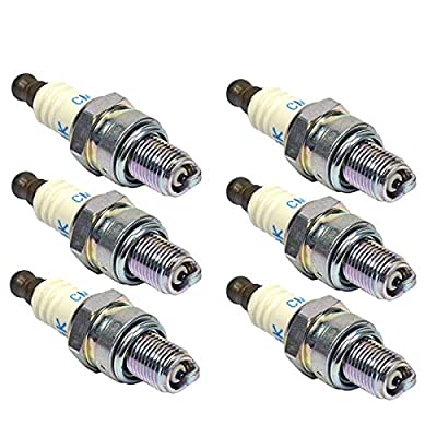 NGK 6 Pack of Replacement Spark Plugs # CMR7H-6PK: Automotive