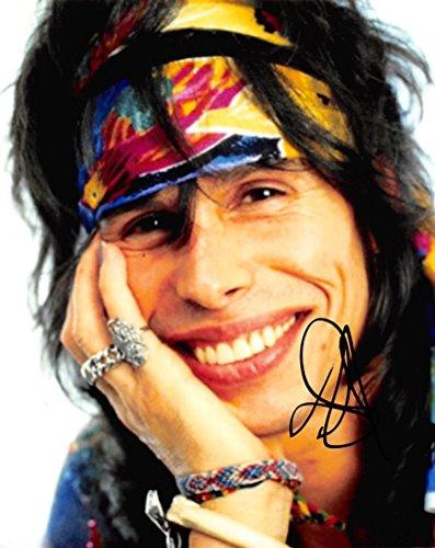 Steven Tyler Aerosmith (STEVEN TYLER - Aerosmith AUTOGRAPH Signed 8x10 Photo E)
