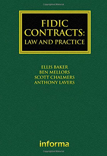 FIDIC Contracts  Law And Practice  Construction Practice